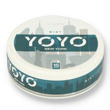 YoYo New York (Mint) Tobacco Free Nicotine Chew Bags 12mg