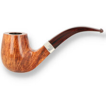 Northern Briars G5 Square Shank 9mm Bent Billiard Hand Carved Briar Pipe NB-164