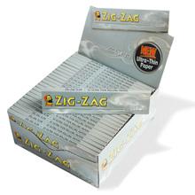 Zig Zag Silver King Size Cigarette Papers Bulk Buy (Full Box 50 Packs)