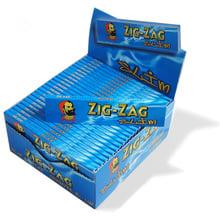 Zig Zag Slim Blue King Size Hemp and Flax (Full Box 50 Packs)