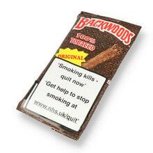 Backwoods Original (Unflavoured) All Natural Tobacco (Pack of 5 Cigars)