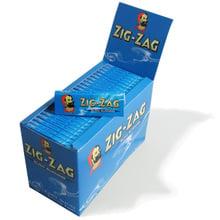 Zig Zag Blue Regular Cigarette Papers (Full Box 100 Packs)