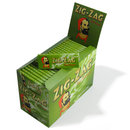 Zig zag green cigarette papers full box