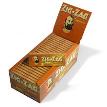 Zig Zag Liquorice Regular Sized Cigarette Papers (Full Box 50 Packs)