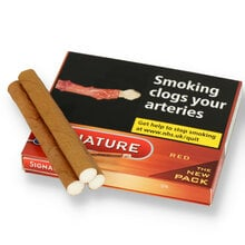 Signature Red Filtered (Formerly Cafe Creme Filter Aromatic) (Box of 10 Cigars)