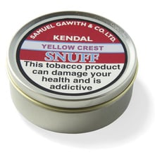 **DISCONTINUED** Samuel Gawith Yellow Crest Snuff (Vacuum Sealed Tin)