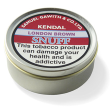 **DISCONTINUED** Samuel Gawith London Brown Snuff (Vacuum Sealed Tin)