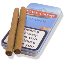 **DISCONTINUED** Cafe Creme Grande Blue (Tin of 5 Cigars)