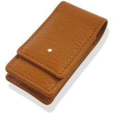 Dunhill Rollagas/Unique White Spot Leather lighter Case (LA2020)