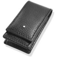 Dunhill rollagas whitespot black leather lighter case