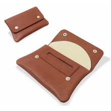 Spanish High Grade Leather Hand Rolling Tobacco Pouch 50160 Tan