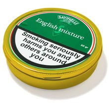 Savinelli English Mixture Pipe Tobacco (50g Tin)