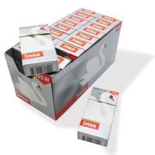 Swan Ultra Slim SILVER Cigarette 4.5mm Filter Tips (Full Box)