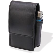 CP6487 Black Leather King Size Cigarette Packet Case