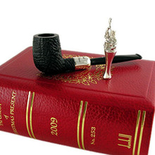 """**SOLD** Alfred Dunhill 2009 Christmas Pipe """"The Ghost Of Christmas Present"""" *Rare Limited Edition Collectors Piece*"""