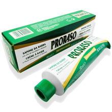 Proraso Luxury Green Shaving Lather Cream 150ml Metal Dispenser Tube
