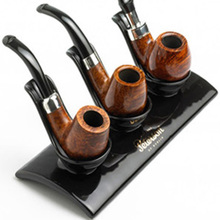 **DISCNTINUED** Peterson Ceramic Pipe Rack/Stand (3 pipes)
