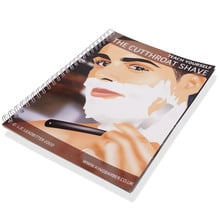 Teach yourself how to use a Straight Razor (Splash Proof Book)