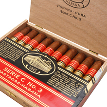**DISCONTINUED** Partagas Serie C No.3 Limited Edition 2012 Cuban Cigars (Box of 10)