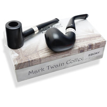 **SOLD OUT** **Collectors Edition** Peterson Mark Twain Pipes (Ebony)