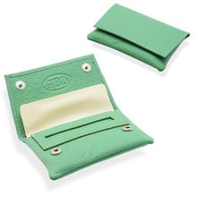 GBD Mini Leather Hand Rolling Tobacco Pouch (P35539GR Green)