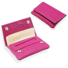 GBD Mini Leather Hand Rolling Tobacco Pouch (P35539PI Pink)