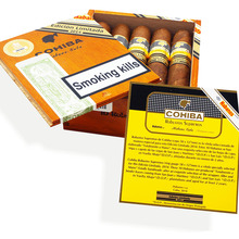 **SOLD OUT** **Limited Edition** Cohiba Robustos Supremos (10 Cuban Cigars In a Polished Wooden Gift Box)