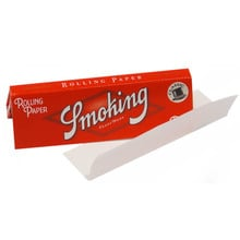 Smoking Regular Red Cigarette Papers (square corners)