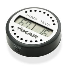Xikar round hygrometer keep cigars fresh maintain moisture measure humidity
