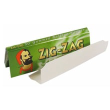Zig zag green cut corners regular cigarette papers