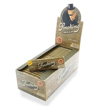 Smoking ORGANIC Tree Free Regular Cigarette Papers (Full Box 50 Packs)