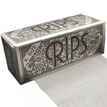 Rips Silver (King Size) Cigarette Papers on a roll