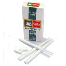 Swan extra slim menthol cigarette filter tips