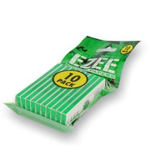 EZEE Rolling Papers (Bag of 10 Green Cigarette Papers)