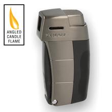 XIKAR Resource II Pipe Lighter 585BKG2 Black & Gunmetal