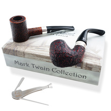 **SOLD OUT** **Collectors Edition** Peterson Mark Twain Pipes (Rustic)