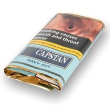 Capstan Ready Rubbed Navy Cut (25g Pouch)