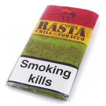 **DISCONTINUED** Rasta Chill Hand Rolling/Tubing Tobacco (12.5g pouch)