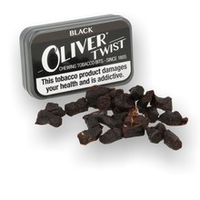 Oliver Twist Black (Strong Licorice) Chewing Tobacco Bits