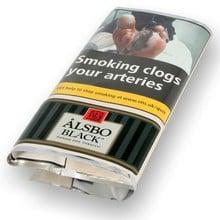 Alsbo Black Pipe Tobacco (50g Pouch)