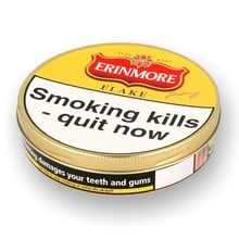 Erinmore Flake Pipe Tobacco (50g Tin)