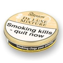 Peterson De Luxe Mixture Tinned Pipe Tobacco (50g Tin)
