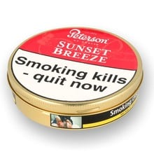 Peterson Sunset Breeze Tinned Pipe Tobacco (50g Tin)