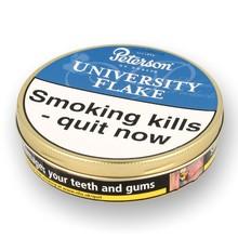 Peterson University Flake Tinned Pipe Tobacco (50g Tin)