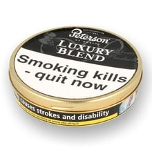 Peterson Luxury Blend Tinned Pipe Tobacco (50g Tin)