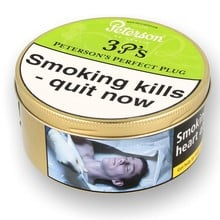 Peterson 3 P's Perfect Plug Tinned Pipe Tobacco (50g Tin)