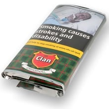 Clan Original (Formerly Aromatic) Pipe Tobacco (50g Pouch)