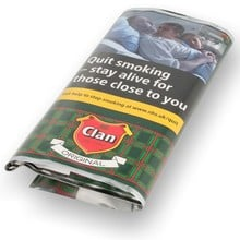 Clan Original (Formerly Aromatic) Pipe Tobacco (25g Pouch)