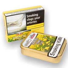 **DISCONTINUED**  Samuel Gawiths & Stanislaw Spring Flake Pipe Tobacco (50g Tin)
