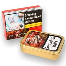 **DISCONTINUED** Samuel Gawiths & Stanislaw Scottish Autumn Flake Pipe Tobacco (50g Tin)
